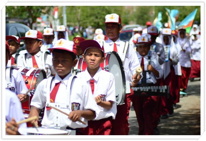 _dram band, memperingati ulang tahun Indonesia 71 tahunn.jpg