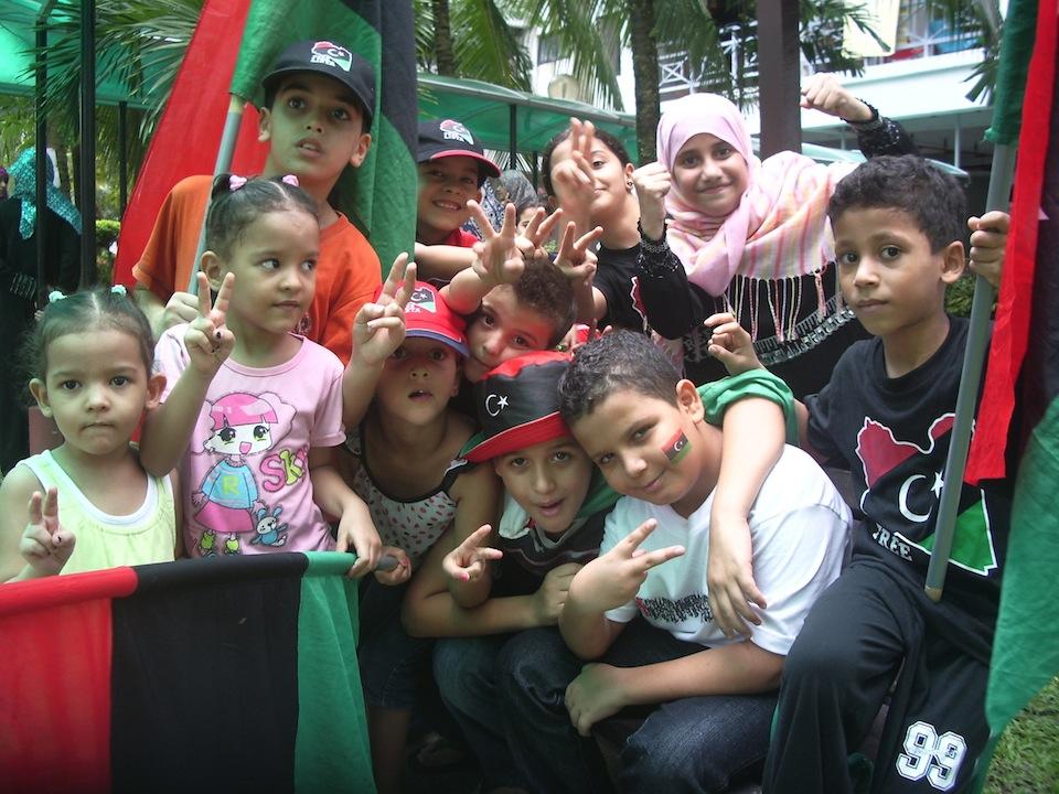 Libyan children celebrate 1.JPG