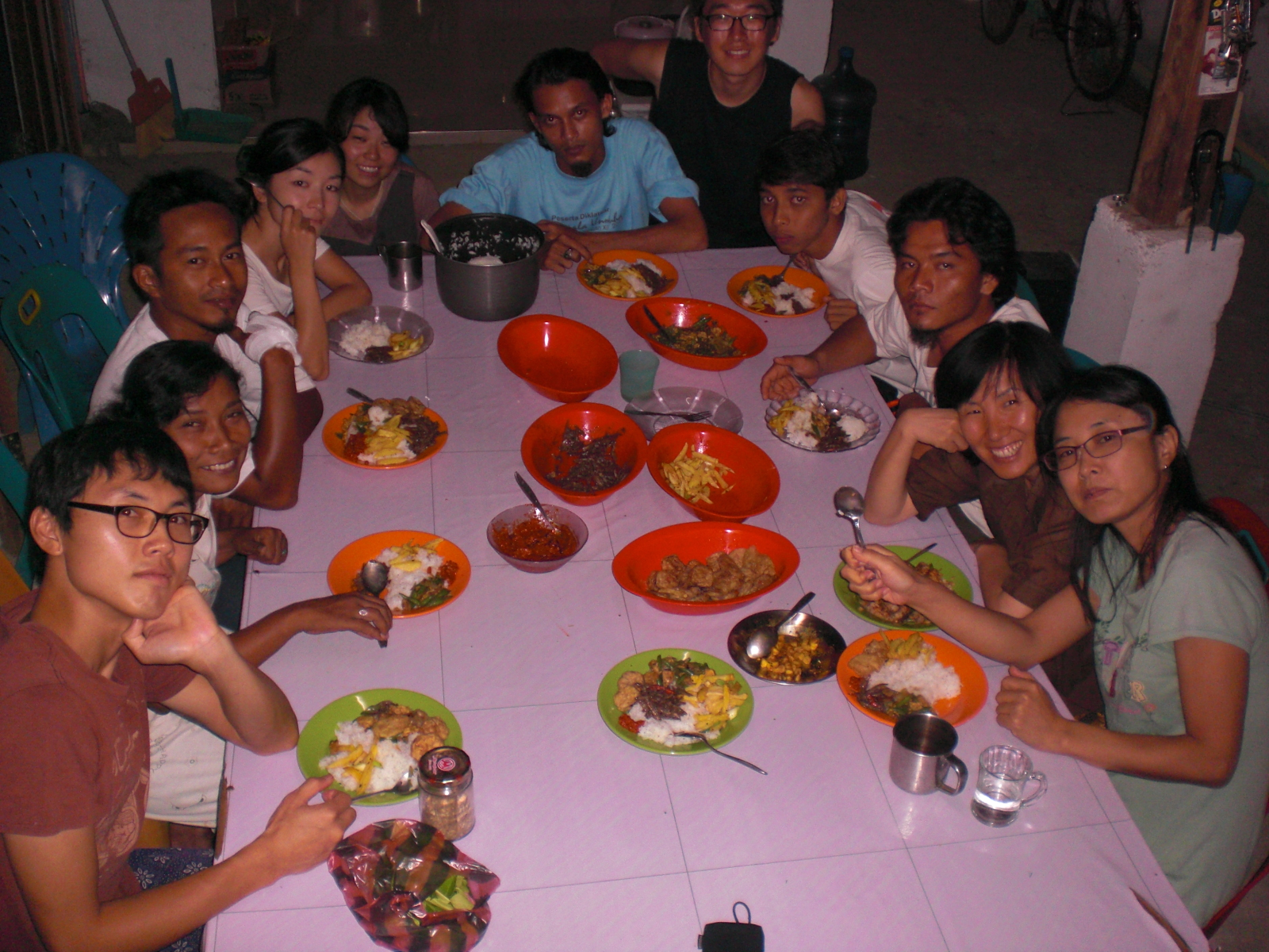 1.Aceh Community Meal Table.JPG